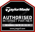 TaylorMade authorised internet seller